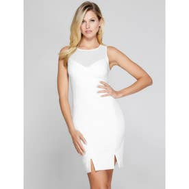 MARCIANO Monique Dress (FROSTED WHITE)