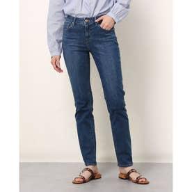 Slim Straight Denim Pants (DARK BLUE)