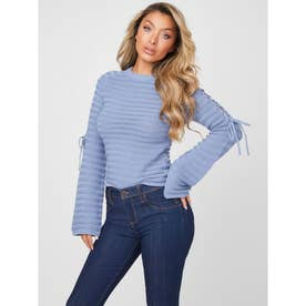 Monique Lace Up Sweater (G7CZ)