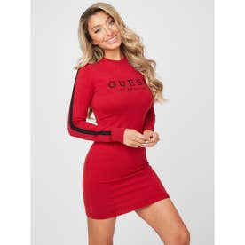 Portman Sweater Dress (CHILI RED)