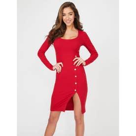 Briana Dress (CHILI RED)