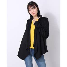 Sofia Faux-Suede Jacket (JET BLACK)