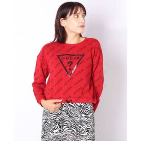 DOLORES PULLOVER (CHILI RED)