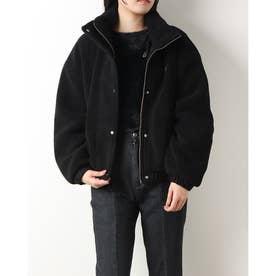 Boa Zip Up Jacket (BLACK)