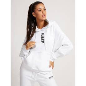 Eco Alisha Hooded Sweatshirt (PURE WHITE)