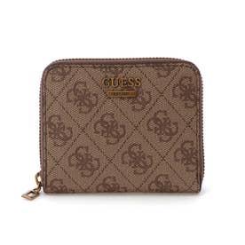 NOELLE Small Zip Around Wallet (LATTE)