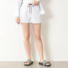【LOVELESS】WOMEN リゾートパイルショートパンツ (オフホワイト)