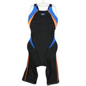 レディース 水泳 競泳水着 FLEX ΣII Semi Openback Kneeskin SCW11910F【返品不可商品】