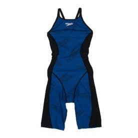 レディース 水泳 競泳水着 HIDDEN SPD T-KNEE STW12103 【返品不可商品】 (ブルー)
