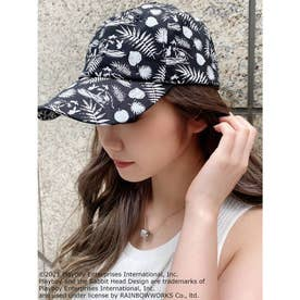 PLAYBOY SURF CLUB PATTERN CAP (ブラック)