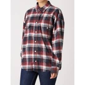 ビンテージタータンチェックシャツ (ネイビー)