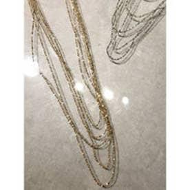 many chain ネックレス (ゴールド)