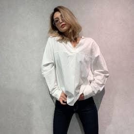 スキッパーシャツ (オフホワイト)