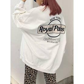RoyalPalmsスウェットドルマンTOPS (オフホワイト)