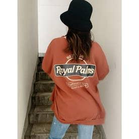 RoyalPalmsスウェットドルマンTOPS (オレンジ)