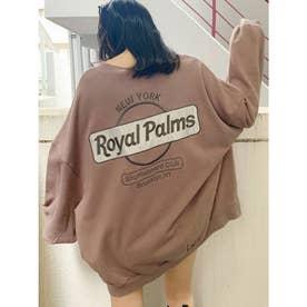 RoyalPalmsスウェットドルマンTOPS (ベージュ)
