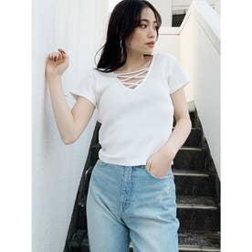 2WAYバインダーTシャツ (オフホワイト)