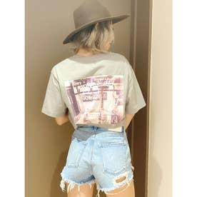 DOWN TOWN BUNNY Tシャツ (ミント)