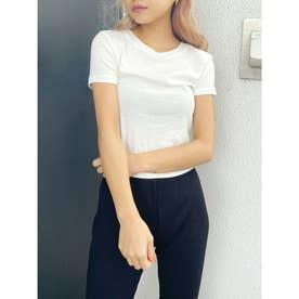 BASIC Tシャツ (オフホワイト)