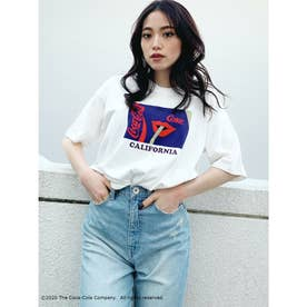 COCA-COLAグラフィックBIG Tシャツ (オフホワイト)