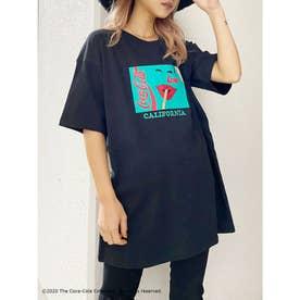 COCA-COLAグラフィックBIG Tシャツ (ブラック)