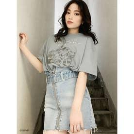 MICKEY&PLUTO/BUDDY BIG Tシャツ (ミント)