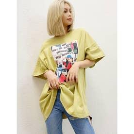 アームデザインnooon BIG Tシャツ (マスタード)