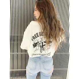 DELIBUNNY ポケットTシャツ (オフホワイト)