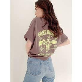 DELIBUNNY ポケットTシャツ (チャコールグレー)