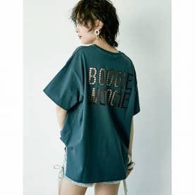 BOOGIE WOOGIE BIG Tシャツ (チャコールグレー)