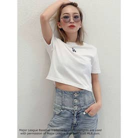 GYDA×MLB ショートTシャツ(オフホワイト)