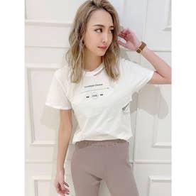 THROWBACK CHOOSE CUT Tシャツ (オフホワイト)