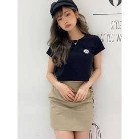 GO GO シャツAWTYショートTシャツ (ブラック)