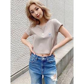 GO GO シャツAWTYショートTシャツ (ベージュ)
