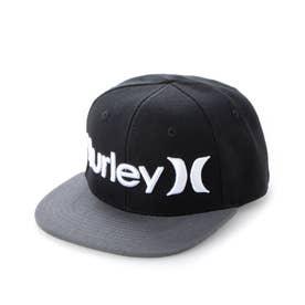 Hurley/キッズ キャップ 8A6088-023 (ブラック)