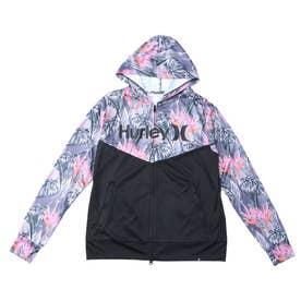 Hurley/UVケアラッシュガード MRG2100003 (ブラック)