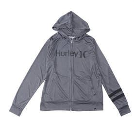 Hurley/UVケアラッシュガード MRG2100001 (グレー)