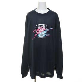 ジュニア バスケットボール 長袖Tシャツ ロンT TLSD024 TLSD024-N (ネイビー)