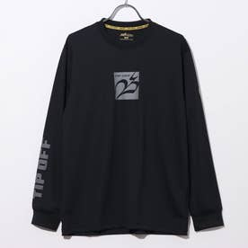 バスケットボール 長袖Tシャツ TIPOFF ロンT019 TLT019-B (ブラック)