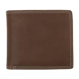 二ツ折リ財布 (D.BRN)