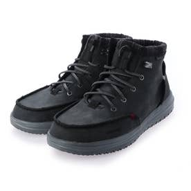 撥水軽量ショートブーツ (ブラック)