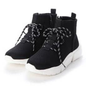 ブーツ (BLK/W)