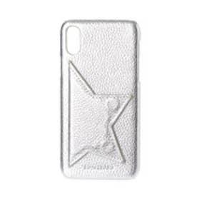 Star Point iPhonecase 【スター ポイント アイフォンケース】 ※iPhone X/XS 用 (シルバー)