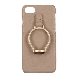 HASHIBAMI×Vin Gem Stone Ring iPhonecase 【天然石リング アイフォンケース】 ※iPhone 8/7/SE2 (グレー)