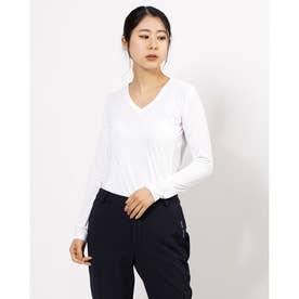 NEWアイクールUネックシャツ (オフホワイト 005)