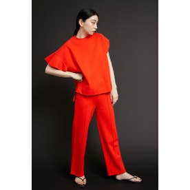 Ponte tapered pants RED