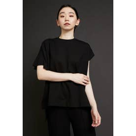 French frill tops BLK