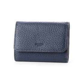 HELENAシャーレ 三つ折り財布 (NV×BG)