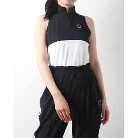 LCocotyベアノースリーブシャツ (ブラック)