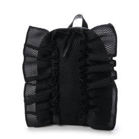 ボンボンバタフライ バックパック M ハニカム ソリッド (BLACK)